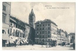 GENOVA - Via Carlo Alberto - Genova (Genoa)