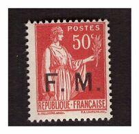Timbre De Franchise  Militaire N° 7 Neuf ** - Militärpostmarken