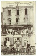 CPA - 14 - SAINT AUBIN SUR MER - Bazar Mériel - Hôtel - Cabines De Plage - Saint Aubin
