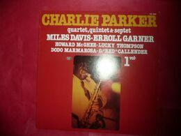 LP33 N°5466 - CHARLIE PARKER - SM 3866 - DISQUE EPAIS BIEN POUR DEMARRER CE GRAND ARTISTE - Jazz