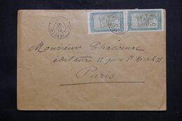MADAGASCAR - Enveloppe Pour La France En 1912, Voir Oblitérations De Transit Au Verso - L 71644 - Brieven En Documenten
