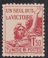 Tunisia, 1943 - 1,50fr Victory - Nr.163 MNH** - Nuovi