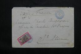 MADAGASCAR - Enveloppe De Ambatondrazaka Pour La France En 1913  - L 71648 - Brieven En Documenten