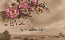 28 Un Baiser De POINVILLE SEMONVILLE - Other Municipalities