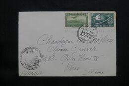 COSTA RICA - Enveloppe Du Consulat De France De San José Pour Paris Par Avion En 1953 - L 71655 - Costa Rica