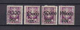 Danzig - Portomarken - 1923 - Michel Nr. 26/29 - Ungebr.m.Falz - Danzig