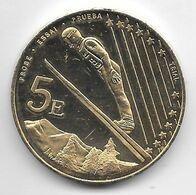 Andorra 5 Euro 2003 Essai  36mm - Andorra