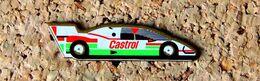 Pin's Auto Sport Prototype Publicité CASTROL - Sérigraphié - Fabricant Inconnu - Rallye