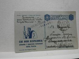 ALBANIA  ---   COMANDO BATTAGLIONI GUARDIA ARMATA P.M.  22 --  30-5-43 - Albanie