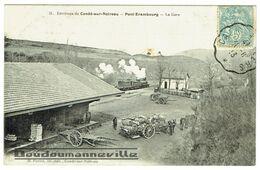 CPA - 14 - PONT ERAMBOURG - La Gare - Locomotive - Attelages - Altri Comuni