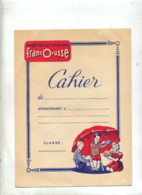 Protege Cahier Entremet Francorusse Theme Faune - Carte Assorbenti