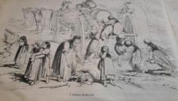 1864 ALSACE SCÈNES ET PHYSIONOMIES - RÉGATES DU HAVRE - SOURCE DE PÉTROLE - CHERBOURG - PORT DE TUNIS - Books, Magazines, Comics