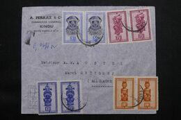 CONGO BELGE - Enveloppe Commerciale De Kindu Pour L'Allemagne En 1952 - L 71686 - 1947-60: Covers