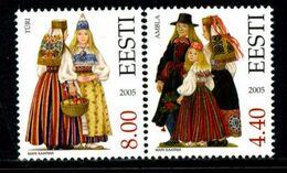 Estonia 2005 / Folk Traditional Costumes MNH Trajes Típicos / 0507  38-7 - Other