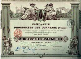 Compagnie Des PHOSPHATES DES OUATANE - Afrique