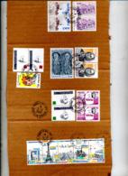 Fragment De Carton Cachet Paris 17 Sur Bande Monument Etc  à Voir - Poststempel (Briefe)