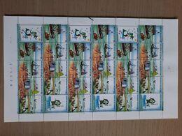 [1569] Zegels 2273 - 2278 In Volledig Vel ** Postfris - Full Sheets