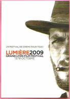 Carte Postale - Lumière 2009 (Clint Eastwood) Un Festival De Cinéma Pour Tous - Grand Lyon Film Festival - Plakate Auf Karten