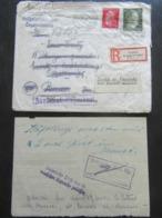 Brief An Inhaftierte (!) SS Panzergrenadier In KZ Neuengamme 1944 - Zwangsrekrutierte Franzosen Elsass RRR - Lettres & Documents