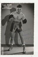 """BOXE - JACQUES DUGRE - VAINQUEUR DU CHALLENGE DE """"L'EQUIPE"""" 1953 - INTERNATIONAL MANAGER JEAN MARCAULT - Boxsport"""