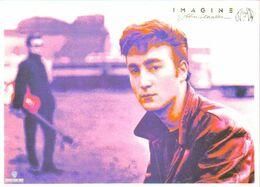 Carte Postale - Imagine - John Lennon (Beatles) Cinémathèque Suisse Lausanne - Entertainers