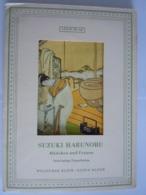 Japan Ukiyoe Woodblock Print Suzuki Harunobu Mädchen Un Frauen 6 Farbige Doppelkarten Femmes Et Filles 13 X 17 Cm - Unclassified
