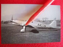 FOTO AEROPLANO AMBROSINI SUPER S - 7  AA-9 Retro Cartolina - Aviation