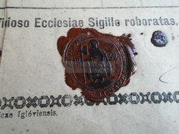 ZA317.11  Old Document - Slovakia Németlipcse  Partizánska Ľupča,  Nemecká Ľupča 1879  Georgius LENCSO (Grünwald) - Geboorte & Doop
