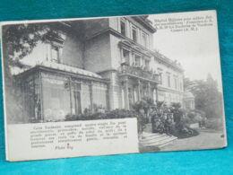 HÔPITAL MILITAIRE POUR SOLDATS BELGES VICTGIMES DE LA GRAND GUERRE - CANNES - Weltkrieg 1914-18