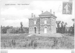 ALLOUE VILLA SARAH MAIRAT 1910 TBE - Sonstige Gemeinden