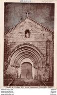 ALLOUE PORTAIL DE L'EGLISE 1937 TBE - Sonstige Gemeinden