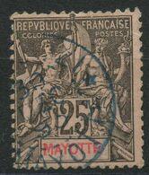 Mayotte (1892) N 8 (o) - Gebraucht