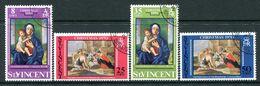 St Vincent 1970 Christmas Set Used (SG 314-317) - St.Vincent (...-1979)