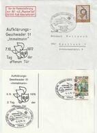 "Bundesrepublik Deutschland / 2 Sonderbelege ""Aufklaerungsgeschwader 51"" (A395) - Covers"