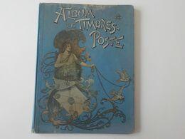 1900 Album De Timbres -poste Tous Pays Art Nouveau - Collections (en Albums)