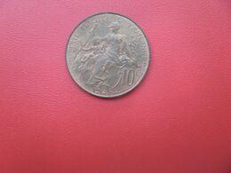 FRANCE 10 Centimes 1914 TRES BELLE (V) - D. 10 Centimes