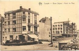 Coxyde NA161: Beau Séjour. Hôtel Du Parc 1938 - Koksijde