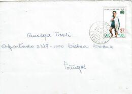 Cabo Verde , 1995  , FAO 50 Th Anniversary , Fish Boy , Tuna Fish , Espargos Postmark - UNO