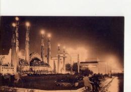 CPA -  EXPO ARTS DECORATIFS PARIS 1925 -  N° 2 - LES JARDINS SUR LA TERRASSE VUS LA NUIT - N° 47 - EDIT PATRAS - - Mostre