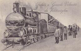 Italie - Saluti A Grande Velocita Da Ventimiglia - Otros