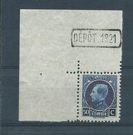 N°187 MNH CDF ET DEPOT 1921 - 1921-1925 Petit Montenez