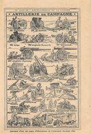 Artillerie De Campagne. Stampa 1916 - Publicidad