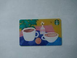 China Gift Cards, Starbucks, 100 RMB, 2019 (1pcs) - Cartes Cadeaux