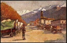 Italy / Italia: Persen (Valsugana). Straße In Persen, Suganatal - Andere Steden