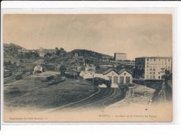 BASTIA : La Gare Et Le Chemin Du Fango - Très Bon état - Bastia