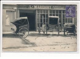 LE NEUBOURG : Sellerie Et Peinture L.MARIDORT, Bondeville Frères Successeurs, Automobiles - Très Bon état - Le Neubourg