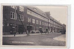 Amsterdam Warmondstraat Levendig Oude Auto's # 1932    2537 - Amsterdam