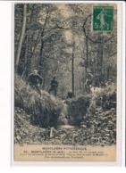 MONTLHERY : Un Groupe De Chasseur Au Ruisseau Mort, Séparant Nozay Et Ville-du Bois De Monthléry - état - Montlhery