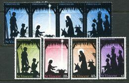 St Vincent 1974 Christmas Set Used (SG 407-414) - St.Vincent (...-1979)
