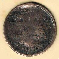 Moneda Medalla ARGENTINA. Colonia Italiana De PERGAMINO En Memoria De Umberto I - Royal / Of Nobility
